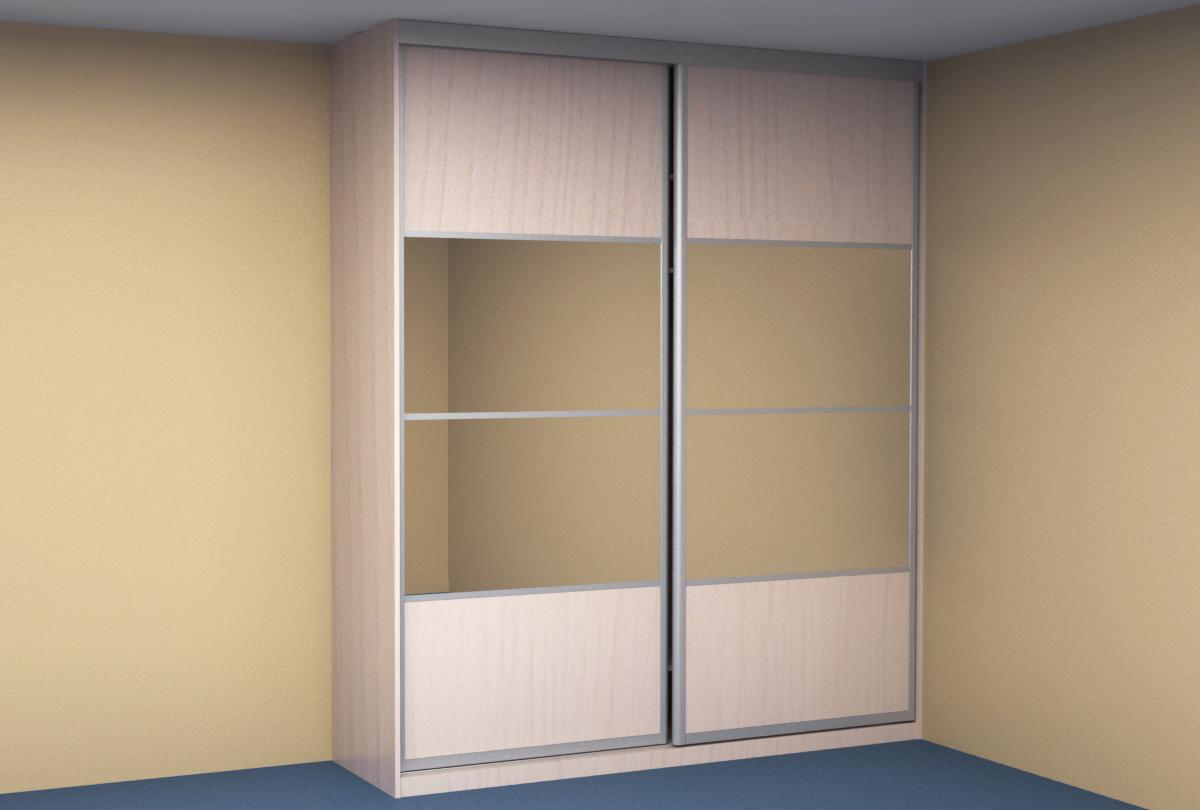 встроенный шкаф купе в спальню Kupe35ru